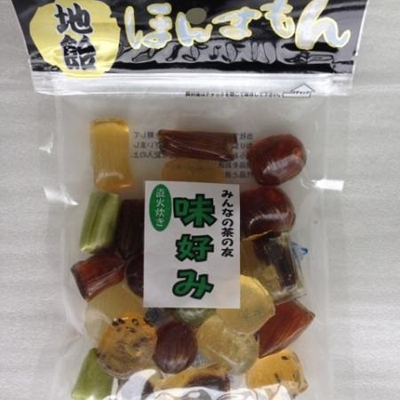 吉岡製菓所 地飴 ほんまもん 味好み(120g×10袋)